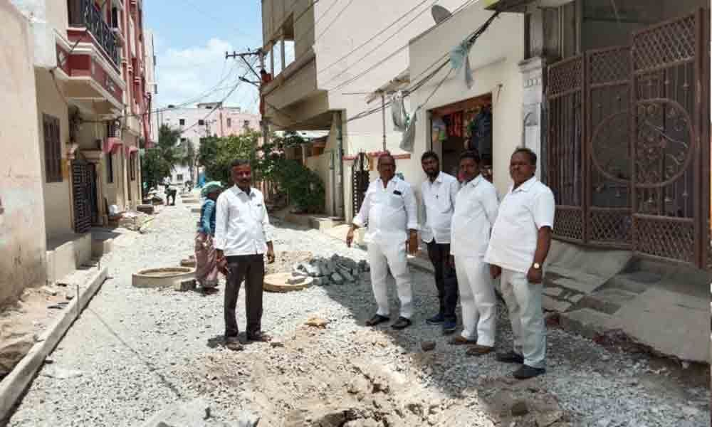 Development works in phases: Dodla Venkatesh Goud