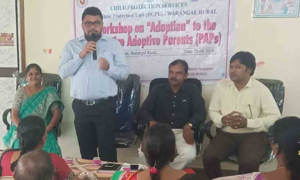Adopt legally, prospective parents told in Hanamkonda