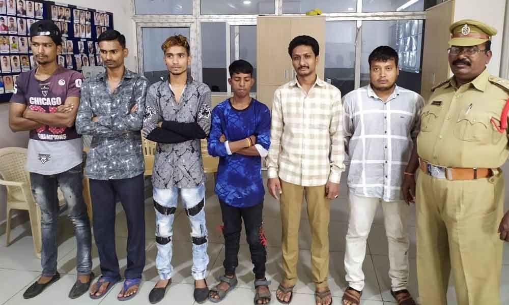 Six held under preventive custody