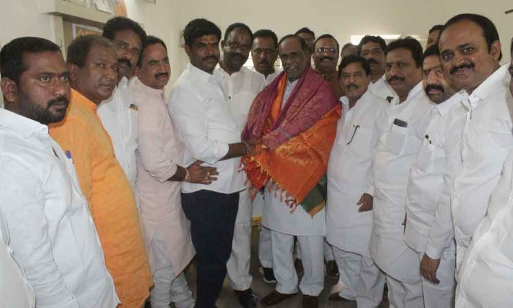 BJP cadres told to strengthen party