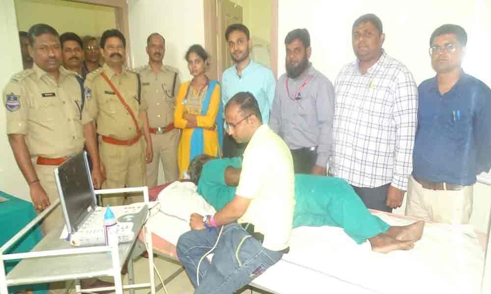 Medical camp held for jail inmates