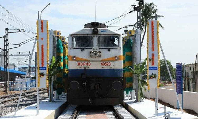 Kacheguda railway station goes eco-friendly: Coach washing plant inaugurated