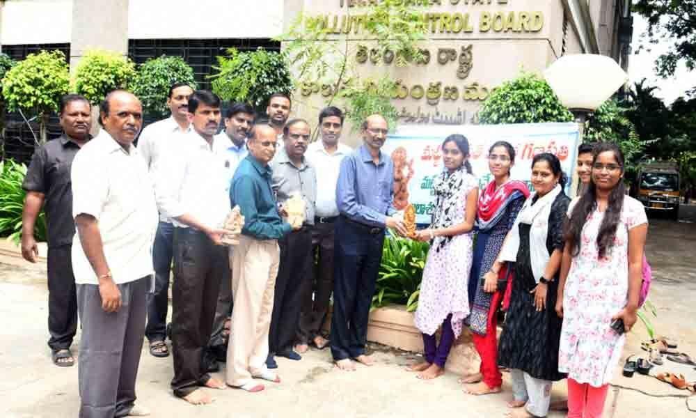 Hyderabad: TSPCB to distribute 70,000 clay Ganesh idols