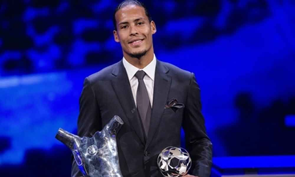 Van Dijk named UEFA Player of the Year