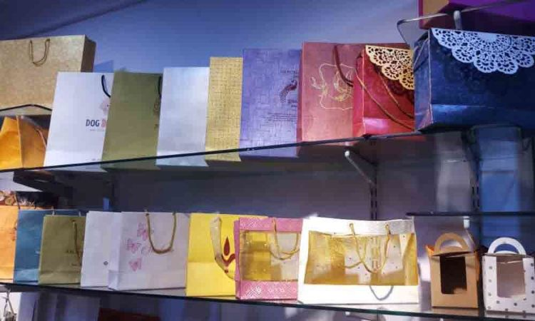 Khairatabad: Hand-made seed paper bags are trending