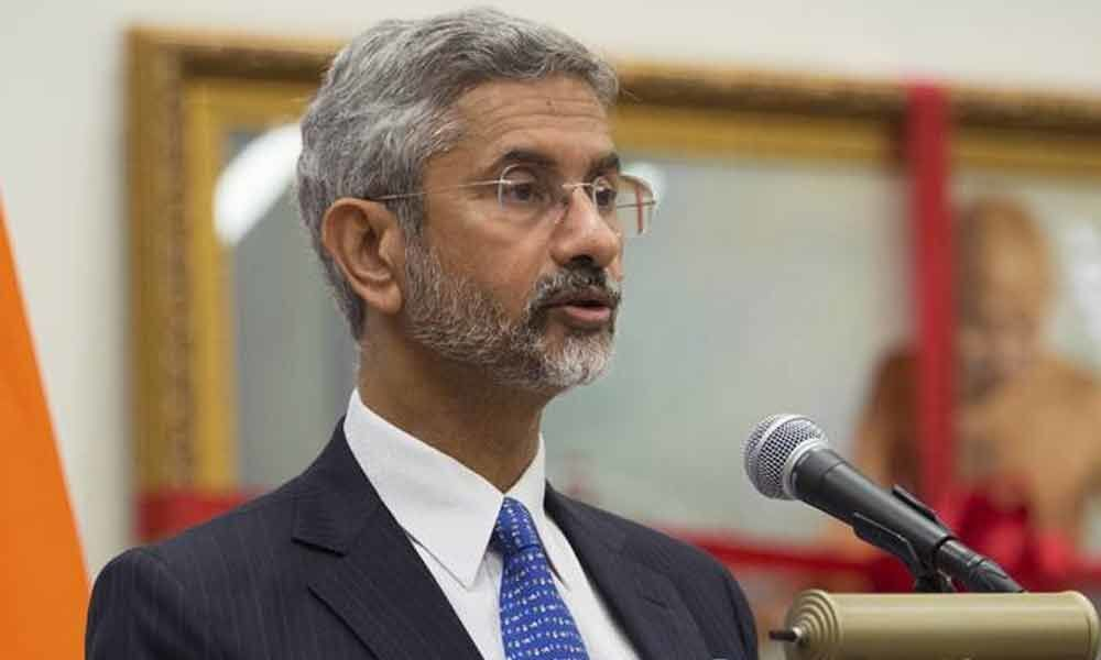 India open to discuss issues with Pak in terror-free atmosphere: Jaishankar