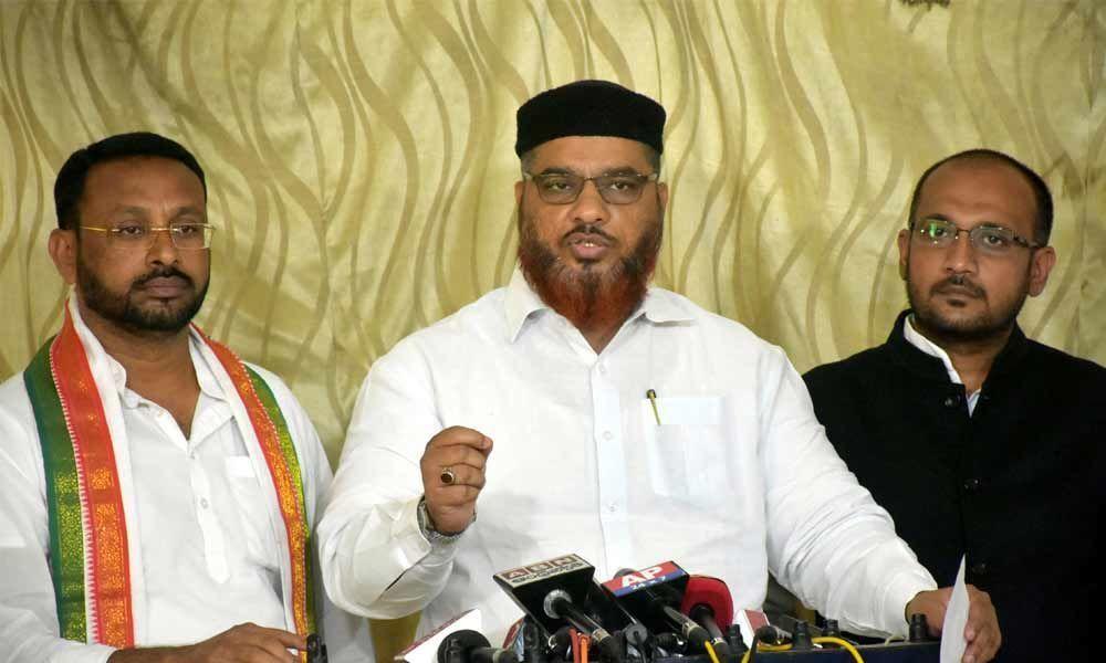 Congress demands enhancement of minorities quota in 2BHK Scheme