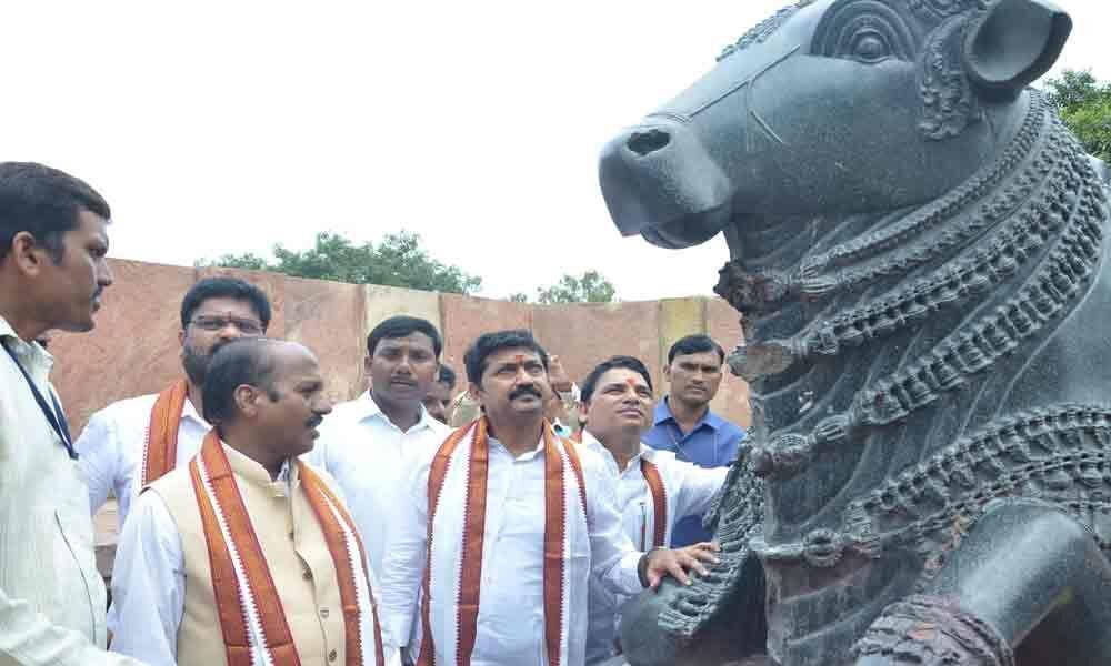 Ramappa set for beautification