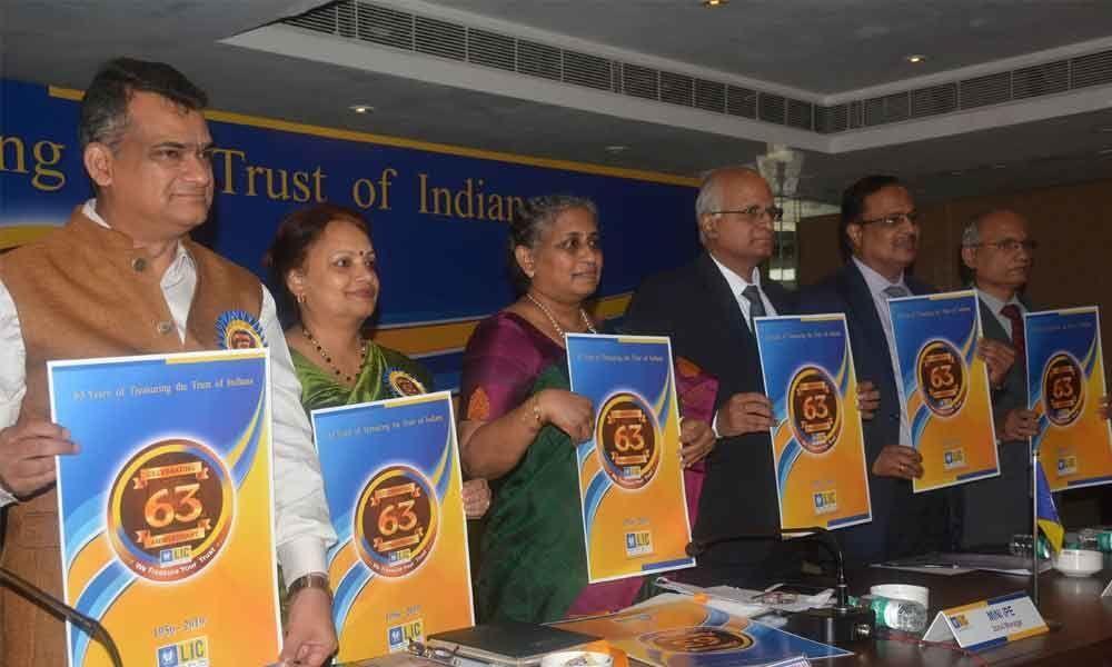 LIC celebrates 63rd anniversary