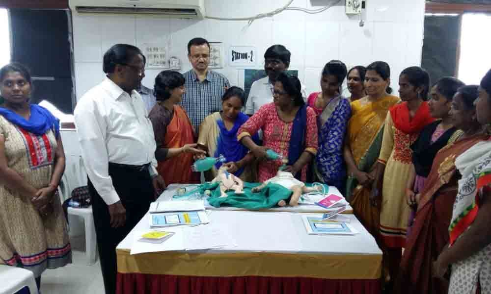 Awareness meet held on safety of newborns in Vidyanagar