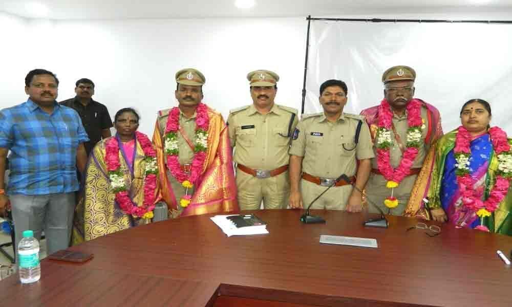 Staff bids warm adieu to retired police personnel: SP M Narayana