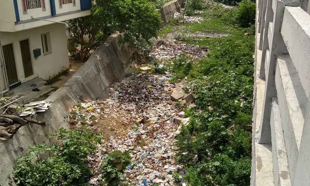 Garbage piling up as GHMC sleeps: Public