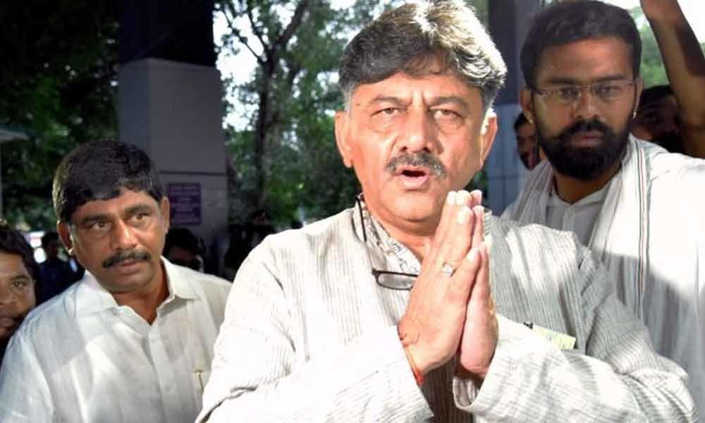 On rejection from Karnataka HC, Congress Leader Shivakumar appears before ED again