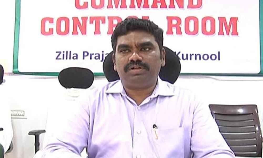 Kurnool Collector suspends teachers not attending Grama Sachivalayam invigilation duties