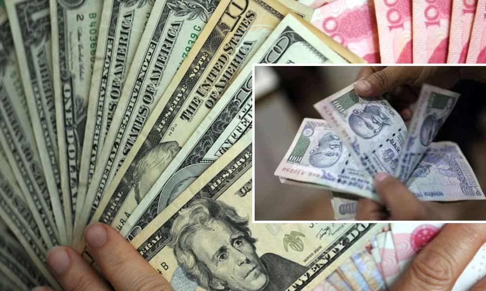 Rupee tanks 97 paise to 9-month low on weak macro data, strong dollar