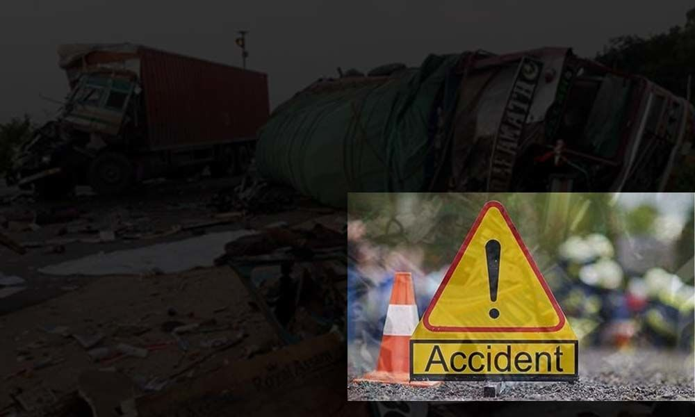 Two lorries collide in Nalgonda, 1 killed