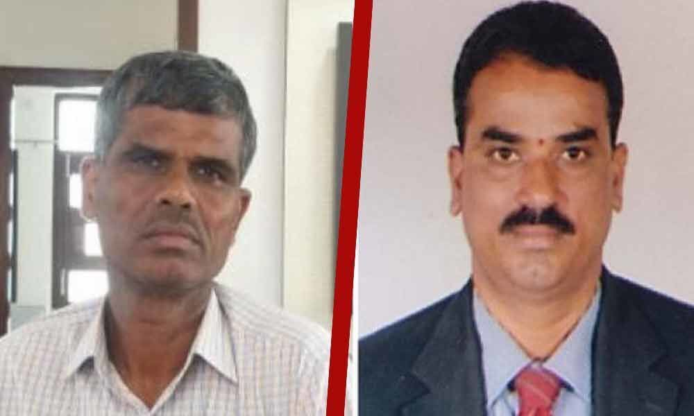 Telangana : Two cops try extorting money from a sub-registrar, get arrested