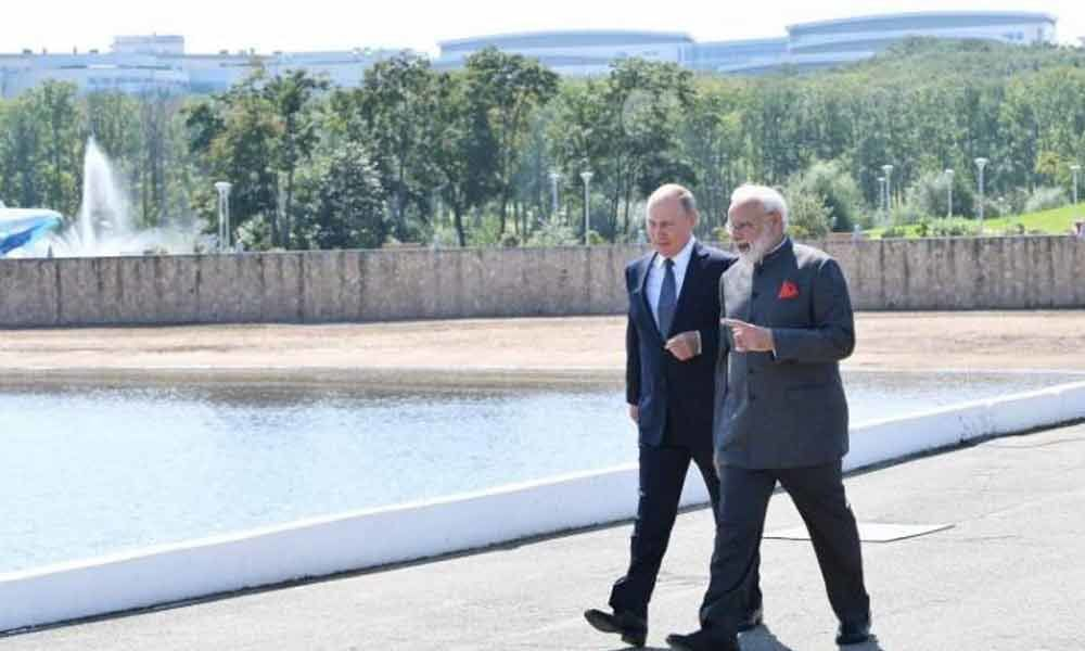 Putin and I are against outside influence in internal matters of any nation : PM Modi