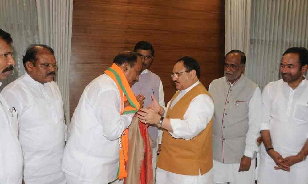 Revuri, a shot in the arm for BJP