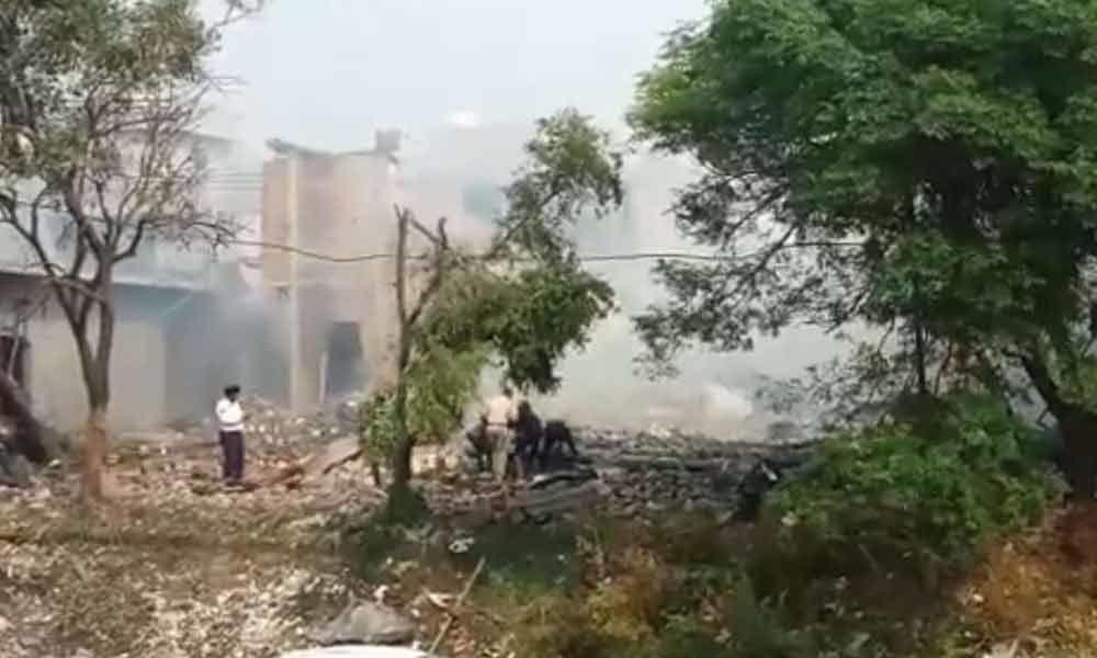 Punjab : Police say dangerous cracker factory
