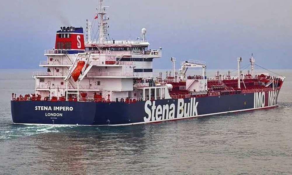 Iran seizes British tanker, releases Indians aboard