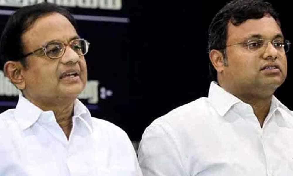 Court grants anticipatory bail to P Chidambaram and son