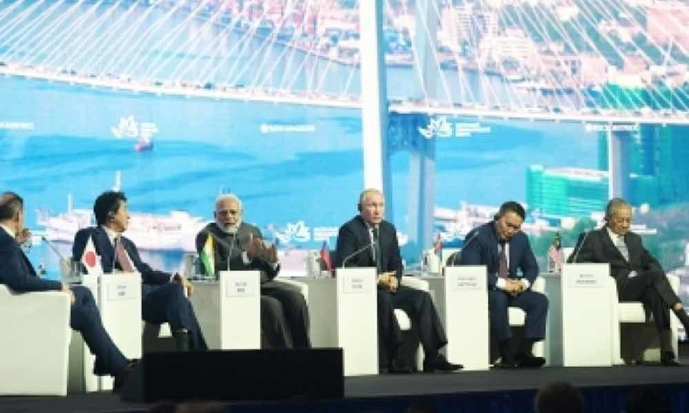 World concerned over impact that sanctions have on economy: Modi