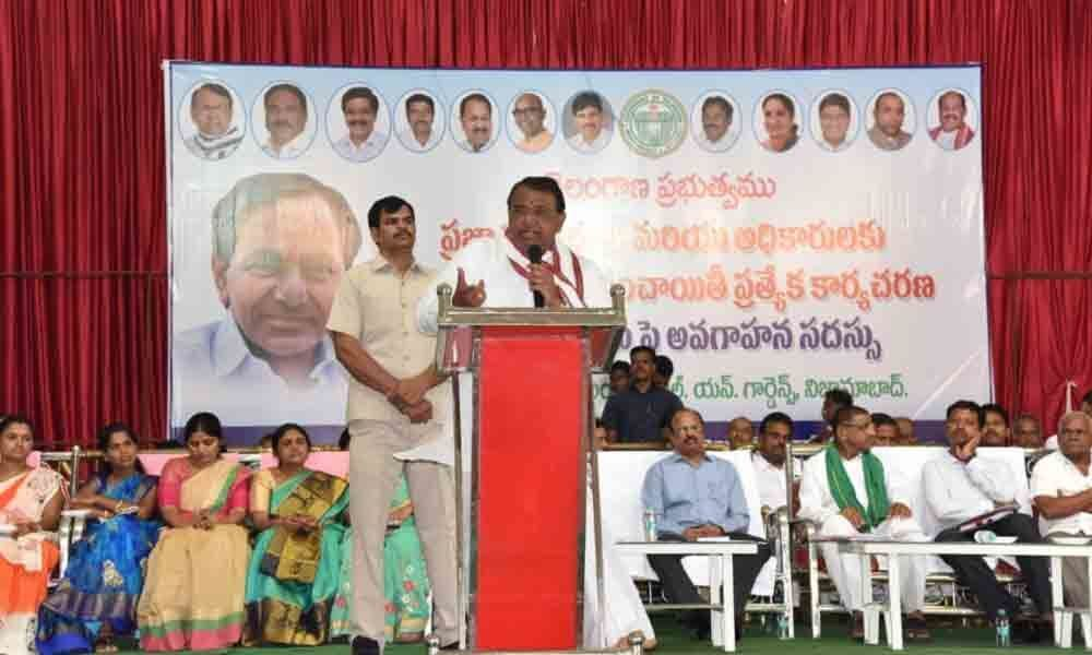 Nizamabad: Sarpanch to play key role in making villages green