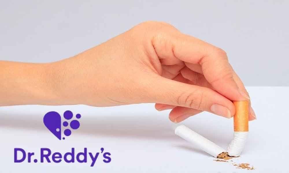 Dr Reddys launches anti-smoking drug