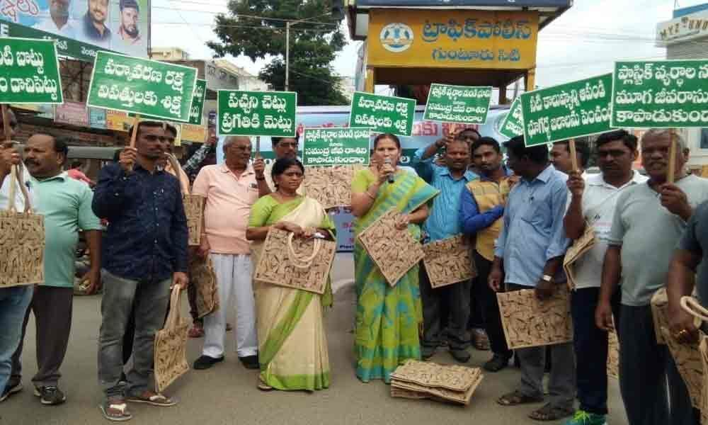 Call to use jute bags instead of plastic bags