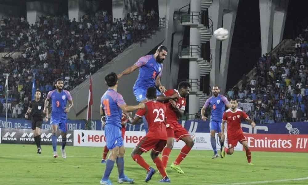World Cup Qualifier : India lose to Oman after taking lead in opening match