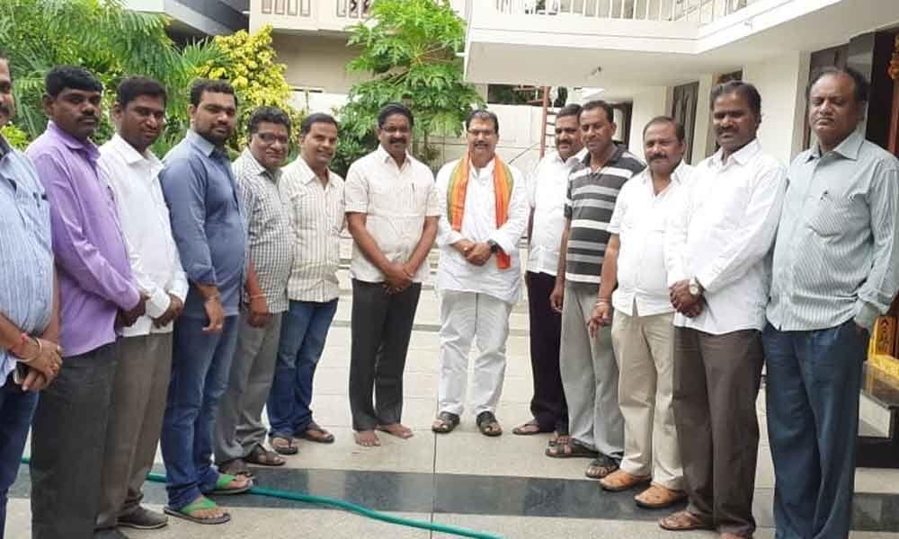 TDP leader Machineni joins saffron party