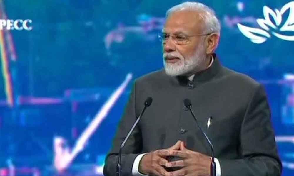 Will build $5 trillion economy by 2024: Modi
