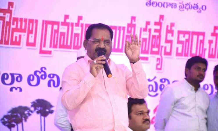 30-day action plan will change the face of villages: ZP chief  Koram Kankaiah