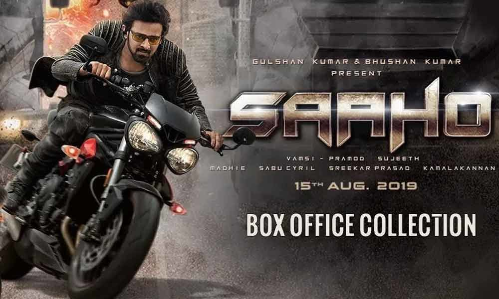 Prabhass Saaho Movie Latest Box Office Collections Report