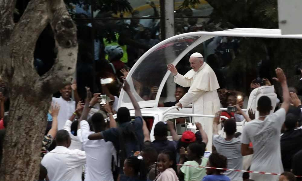 Danger of corruption in Mozambique Mass denounced by the Pope