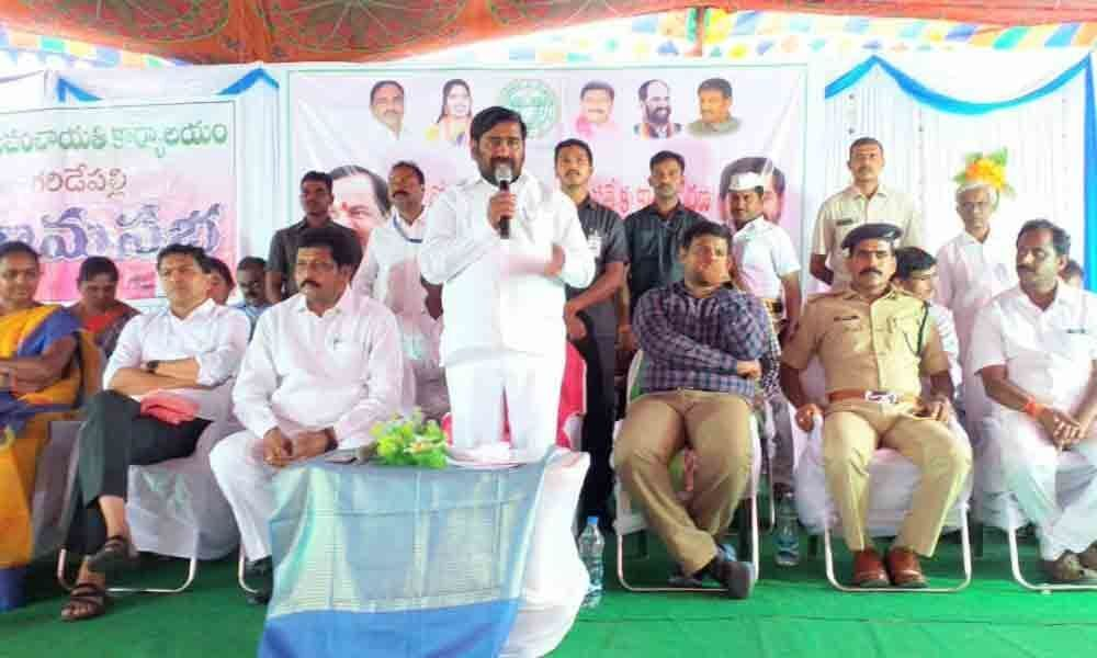 Minister launches 30-day action plan in Suryapet