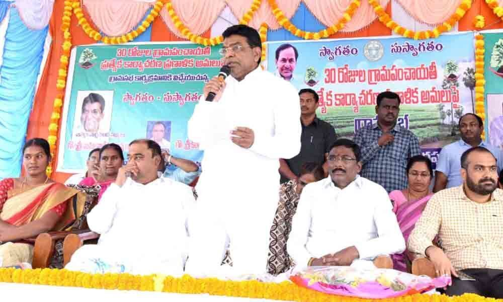 Villages must be developed as model villages under action plan: Nama Nageswara Rao