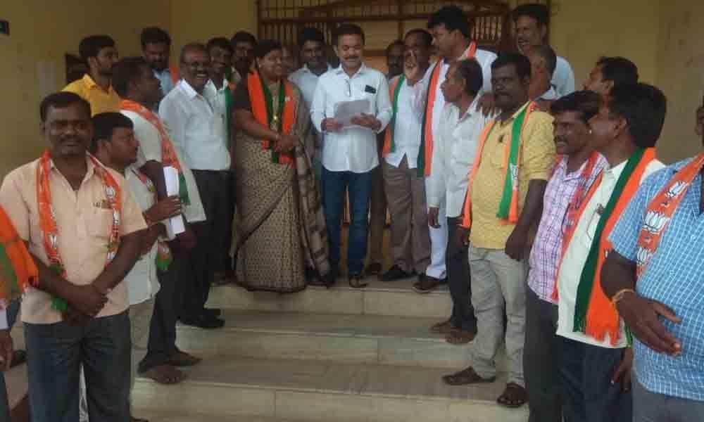 Nagarkurnool: Celebrate Hyderabad Liberation Day, BJP urges State government