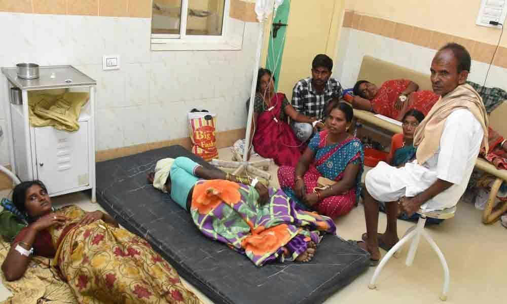 Patients outnumber beds in government hospitals in Nalgonda