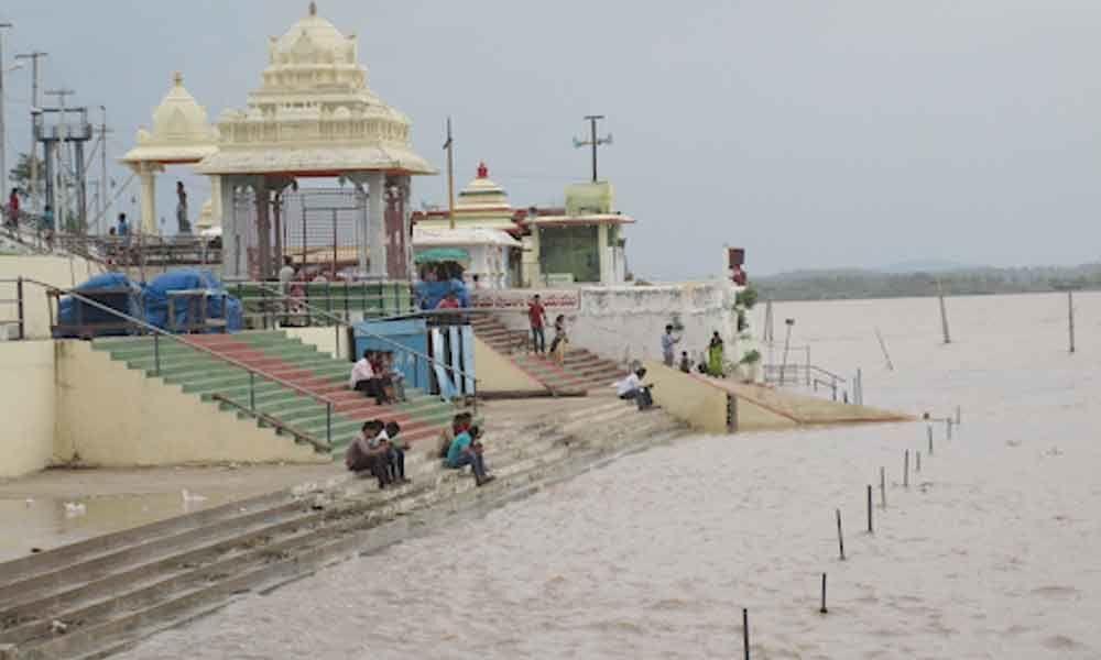 Godavari Water level Reached 41 feet at Bhadrachalam