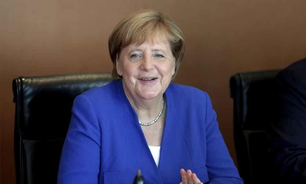 German Chancellor Merkel: Hong Kong