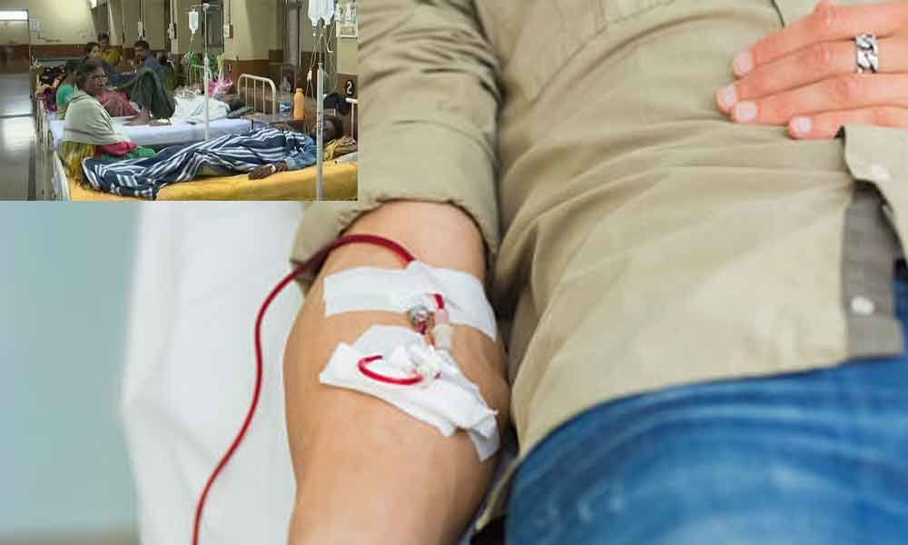 Blood Donations increase significantly as Dengue cases increase in Hyderabad