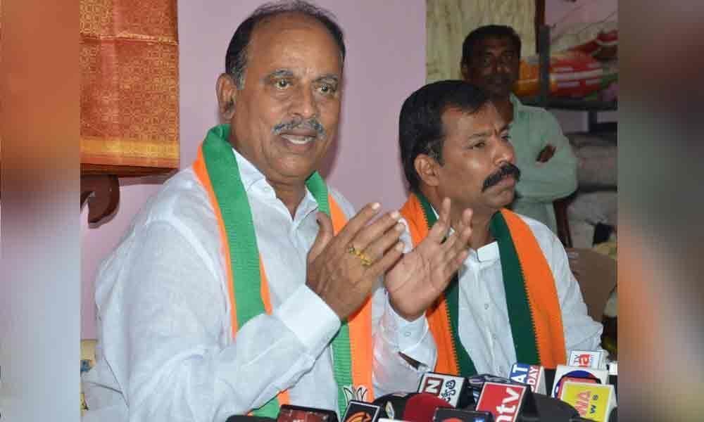 Declining Congress forced me to join BJP: Ex-MLA Revuri