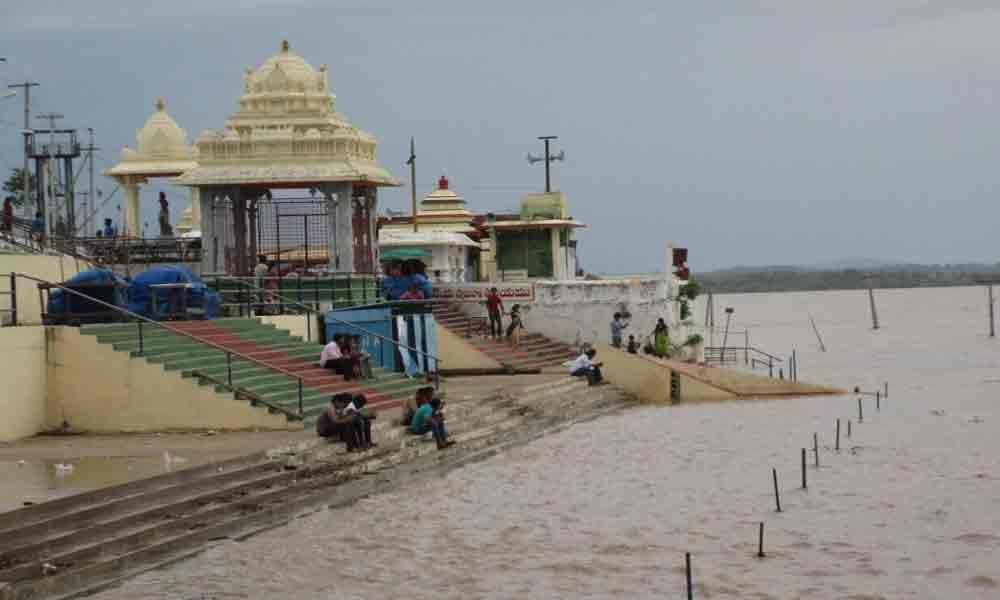 Godavari water level reaches danger mark in Bhadrachalam