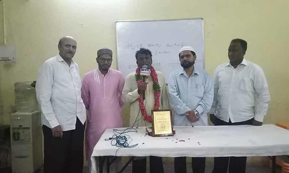 Old City denizens try their hand on spoken Telugu