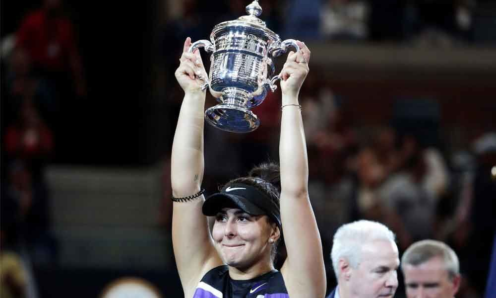 At 19, Andreescu lives dream of being Grand Slam champ
