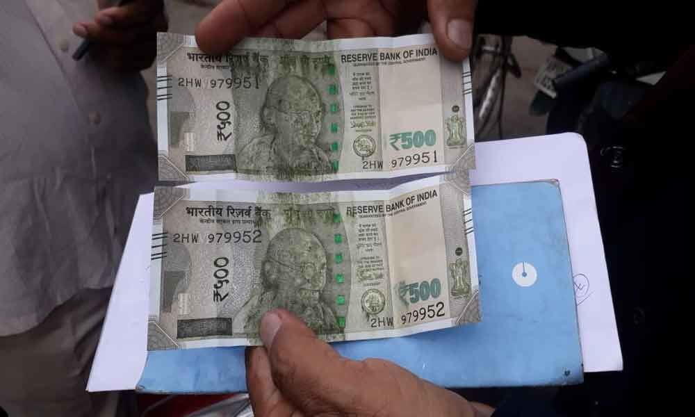 Customers sore over soiled notes at ATMs