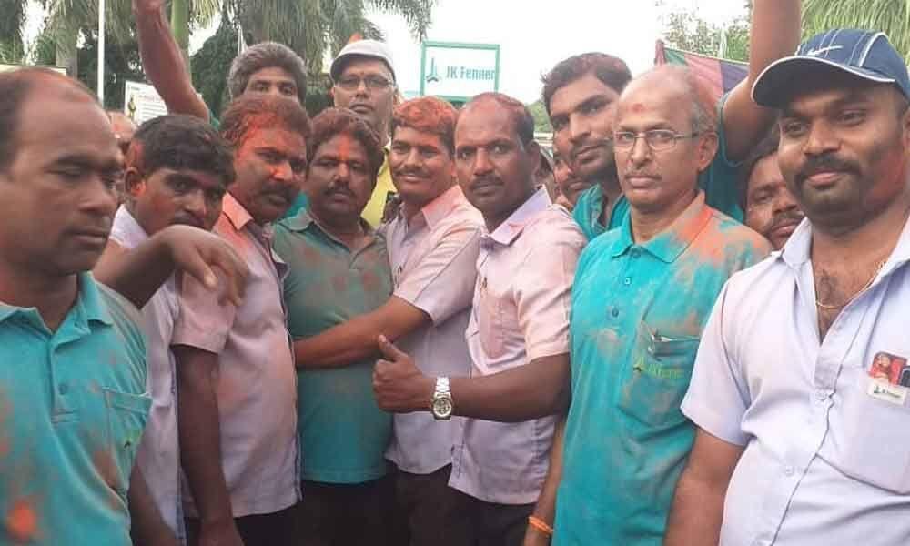 Naini Narsimha Reddy defeated in JK Pennar TU polls