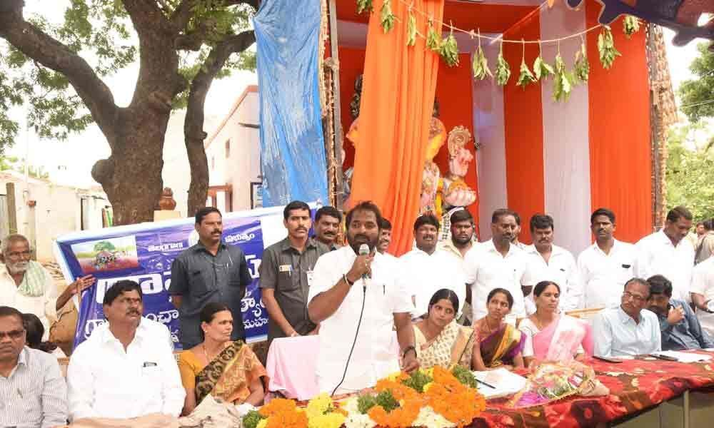 30-day action plan to transform villages launched in Mahbubnagar